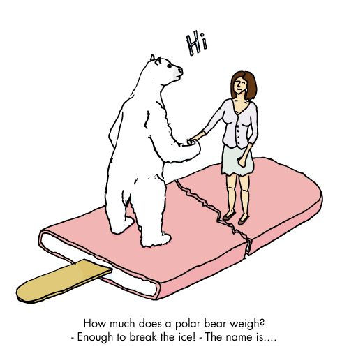 How much does a polar bear weigh?