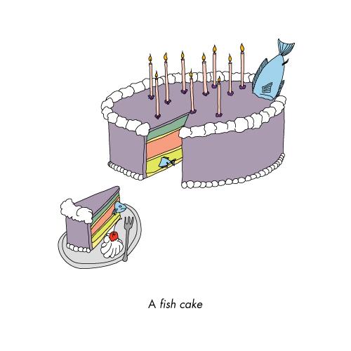 A Fish cake