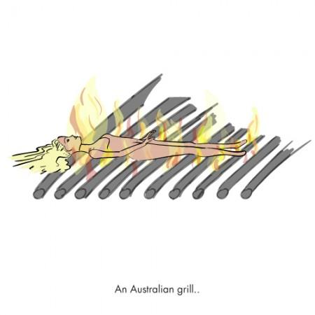 Australian barbie grill