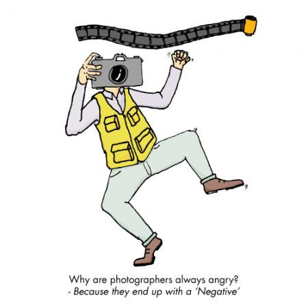 Photographers are negative